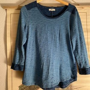 Madewell two toned shirt